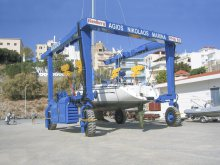 Roodberg Powerhoist Travelift Travellift Travel lift